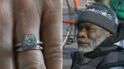 Homeless Man Returns Diamond Ring